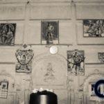 পঞ্চরত্ন শিব মন্দিরের ভেতরের দেওয়ালের ছবি
