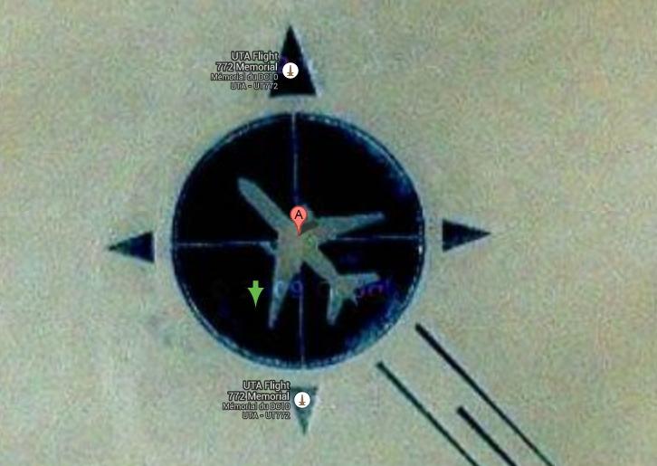 UTA Flight 772 মেমোরিয়াল