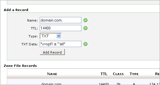 TTL - Time to live - DNS Cache